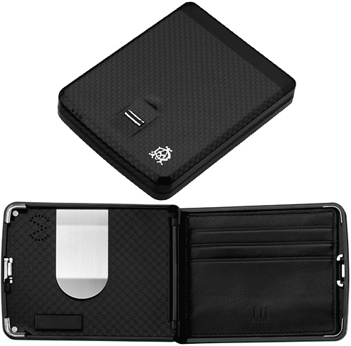 Dunhill Biometric Wallet (Images courtesy Dunhill)