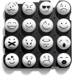Emoticon Keypad (Image courtesy Bajca)