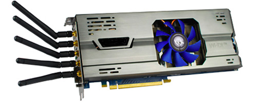 KFA2 NVIDIA GeForce GTX 460 WHDI (Image courtesy KFA2)
