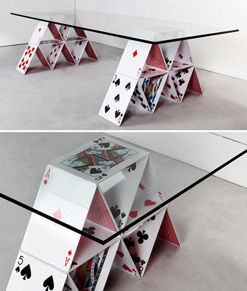 House Of Cards Table (Images courtesy Felipe Morozini)