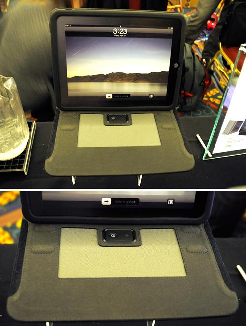 iHome iDM70 Sound Sleeve iPad Folio (Images property OhGizmo!)