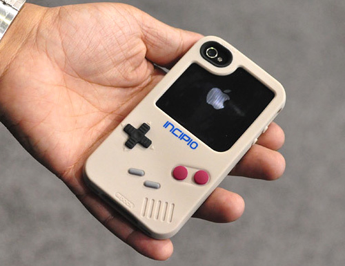 Incipio Game Boy iPhone Case (Image courtesy iLounge)