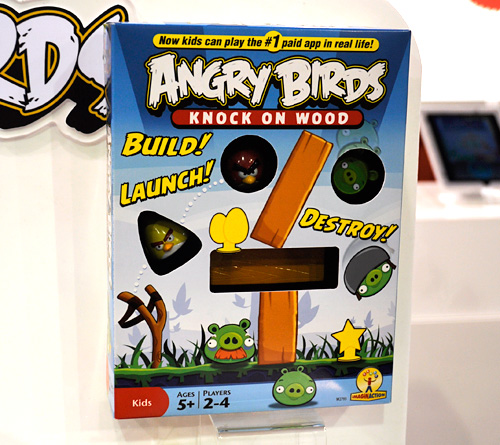 Angry Birds Knock On Wood Game (Image property OhGizmo!)