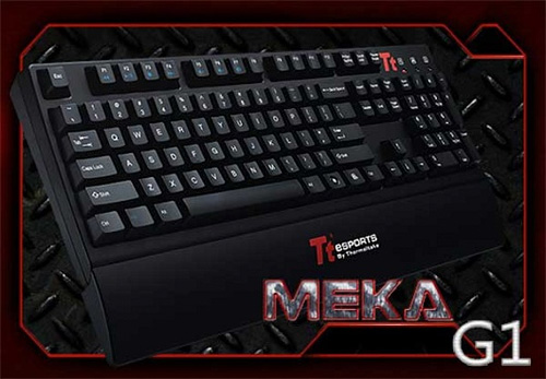 Thermaltake MEKA G1 Mechanical Keyboard (Image courtesy Thermaltake)