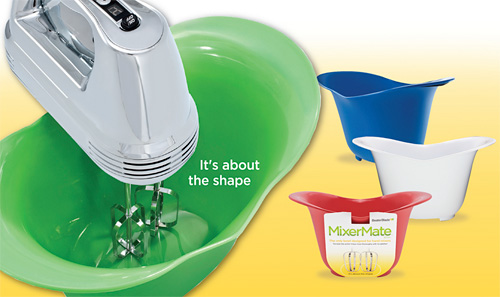 MixerMate Bowls (Image courtesy New Metro Design)