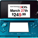 Nintendo 3DS Officially Available On March 27th For $249.99