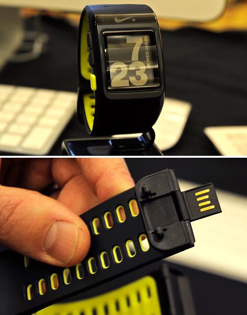Nike+ SportWatch GPS (Images property OhGizmo!)