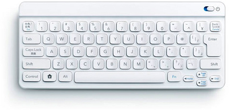 Nintendo's 'Pokemon Typing DS' Bluetooth Keyboard (Image courtesy Nintendo)