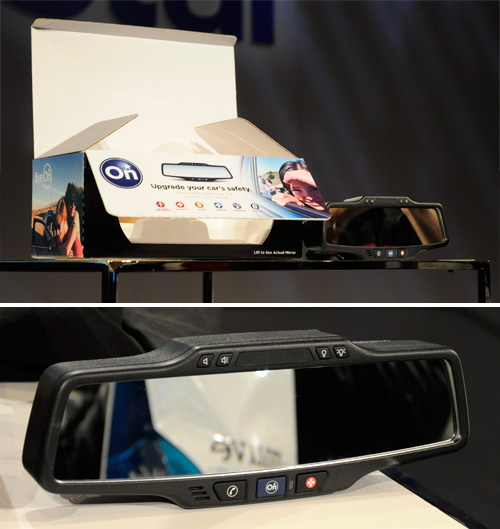 OnStar Standalone Rearview Mirror (Images property OhGizmo!)