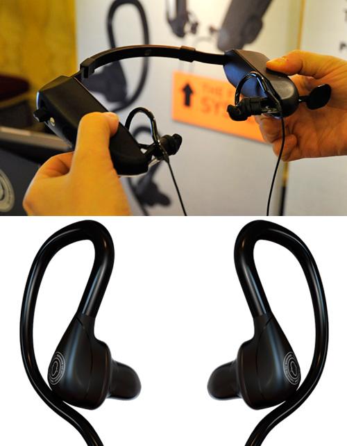 Sonofit PCS-100 Custom Molded Earphones (Images property OhGizmo! & Sonomax)