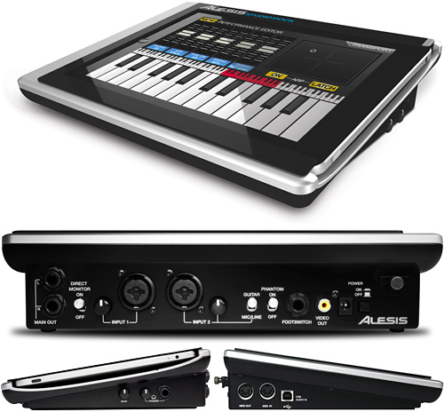 Alesis' iPad StudioDock (Images courtesy Alesis)
