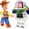 Buzz And Woody Get The LEGO Minifigure Alarm Clock Treatment