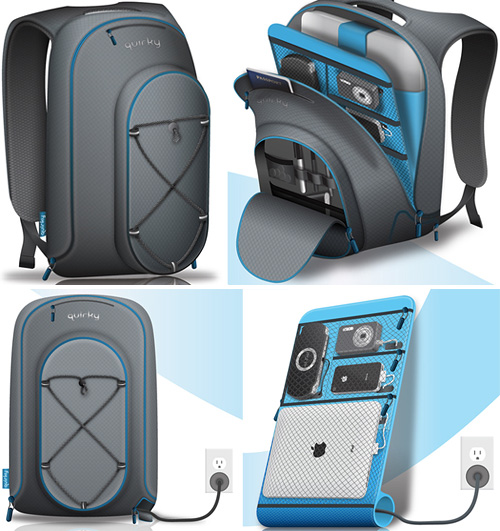 Trek Support Backpack (Images courtesy Quirky)