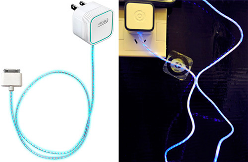 Dexim Santom's Visible G Replacement iPhone Charger (Image property OhGizmo! & Dexim Santom)