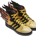 adidas Originals Jeremy Scott Flame Shoes