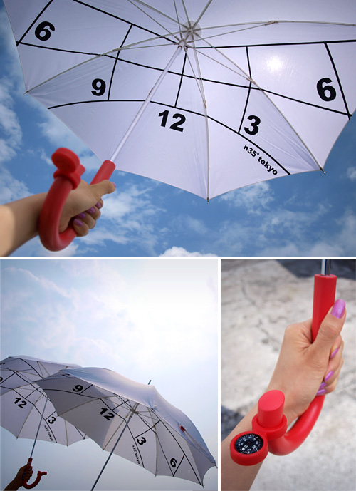 Clock Parasol (Images courtesy Kota Nezu)