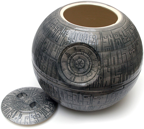 Death Star Cookie Jar (Image courtesy the StarWarsShop)