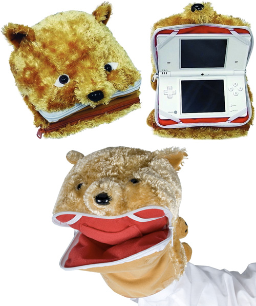Padded Puppet Pouch for DS Lite and DSi (Images courtesy CTA Digital)