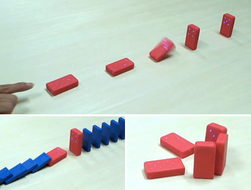 Esper Wireless Dominoes (Images courtesy Japan Trends)