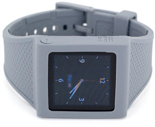 HEX Original Watch Band For The iPod Nano 6G (Image property OhGizmo!)