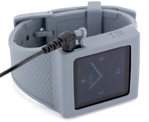 HEX Original Watch Band For The iPod Nano 6G (Image property OhGizmo!)