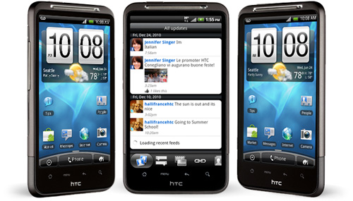 HTC Inspire 4G (Images courtesy AT&T)