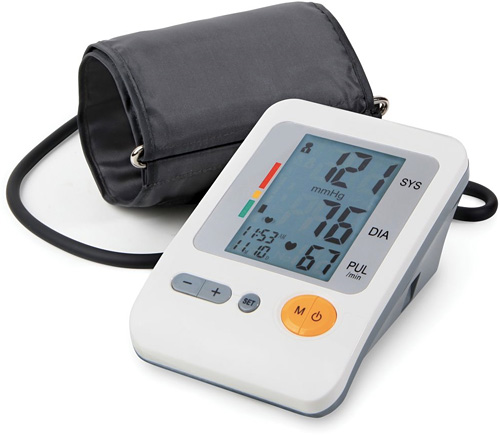 Irregular Heart Beat Detecting Blood Pressure Monitor (Image courtesy Hammacher Schlemmer)