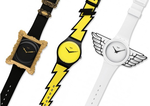 Jeremy Scott's Swatch Watch Collection (Images courtesy Highsnobiety)