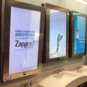 Chicago's O'Hare Airport Now Blessed With Bathroom Mirrors That Play Commercials
