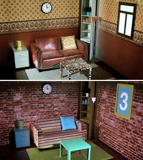 Mr. Beam's Living Room Concept (Images courtesy Mr. Beam)