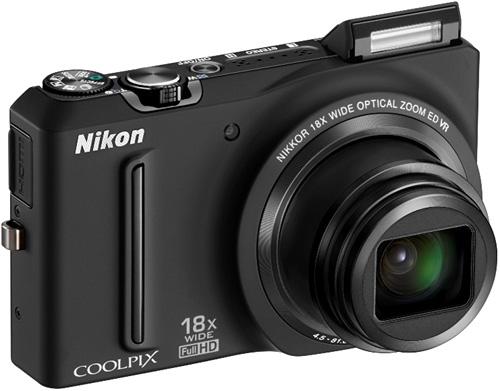 Nikon Coolpix S9100 (Image courtesy Nikon)