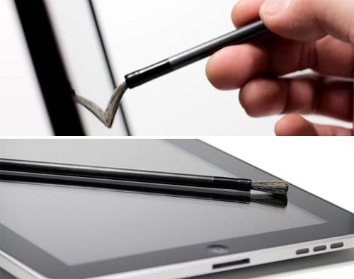 Nomad Touchscreen Friendly Paintbrush (Images courtesy NomadBrush LLC)