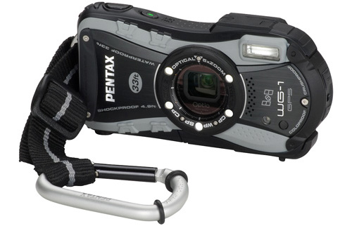 Pentax Optio WG-1 GPS (Image courtesy Pentax)
