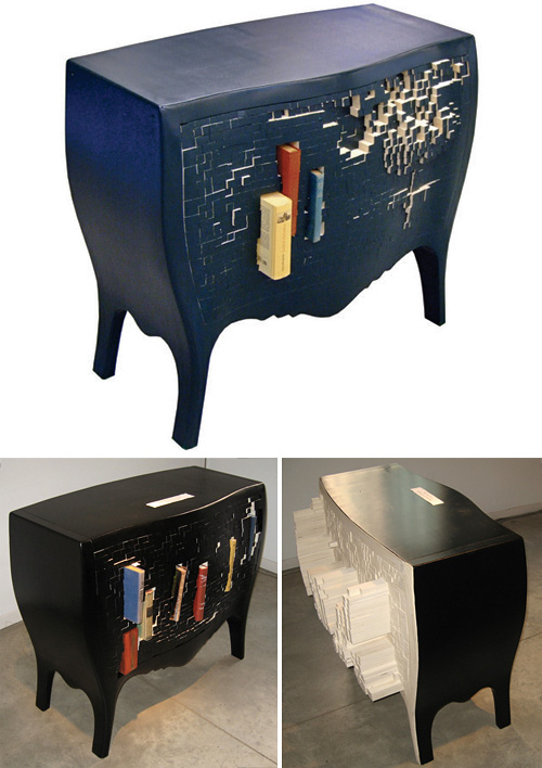 Push And Store Cabinet (Images courtesy Droog)