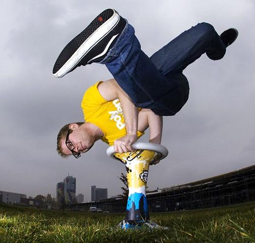 Sporthocker – A New Sport That Revolves Around Sitting On A Stool ...