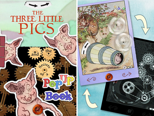 The Three Little Pigs And The Secrets Of A Popup Book (Images courtesy Game Collage, LLC)