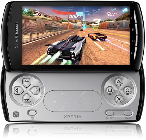 Sony Xperia Play (Image courtesy Sony)