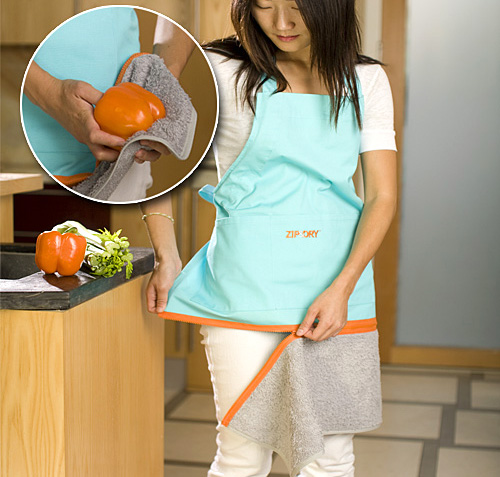 Zip & Dry Apron (Image courtesy Taylor Gifts)