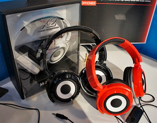 ZUMREED X2 Hybrid Headphones/Speakers (Image courtesy Chip Chick)