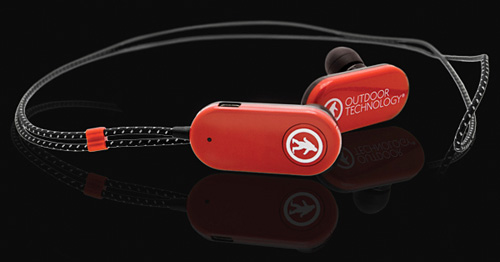 Bluetooth Tags Headphones (Image courtesy Outdoor Technology)