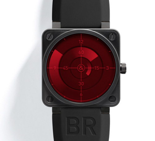 Bell & Ross BR 01-92 Red Radar Edition (Image courtesy Hodinkee)