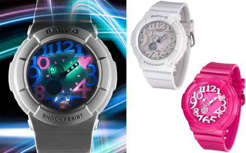 Casio Baby-G Shock Watch (Images courtesy Casio)