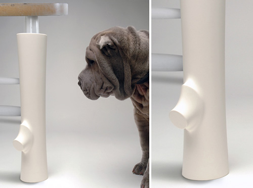 Rubber Chair Leg Chew Toy (Images courtesy Wannekes)