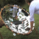 COOKUP200 Portable Solar Death Ray Disguised As A Solar Oven