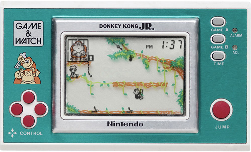 Game & Watch Donkey Kong Jr. (Image courtesy Pica Pic)