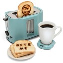 Pop Art Toaster Prints Happy Messages On Your Toast