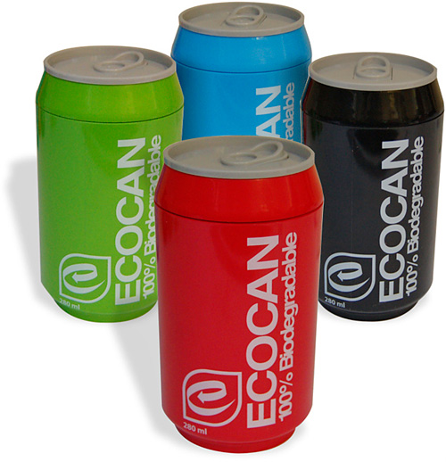 Eco Cans (Image courtesy Firebox.com)