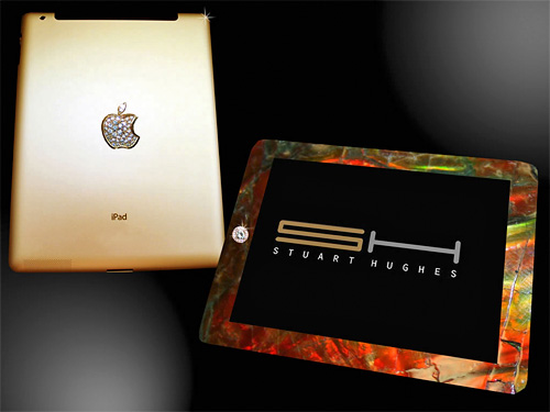 iPad 2 Gold History Edition (Image courtesy Stuart Hughes)