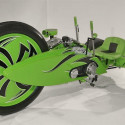 Real-Life Tron Lightcycle Guys Build A Grown-Up Sized Green Machine