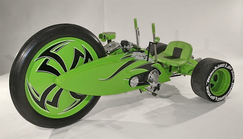 Grown-Up Green Machine (Image courtesy Parker Brothers Custom Choppers)